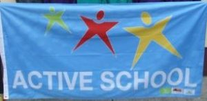 Active school flag